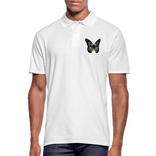 papillon design - Polo Homme