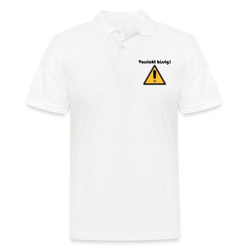 Vorsicht bissig - Männer Poloshirt