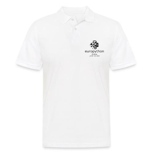 EuroPython 2020 - Vertical Black Logo - Men's Polo Shirt