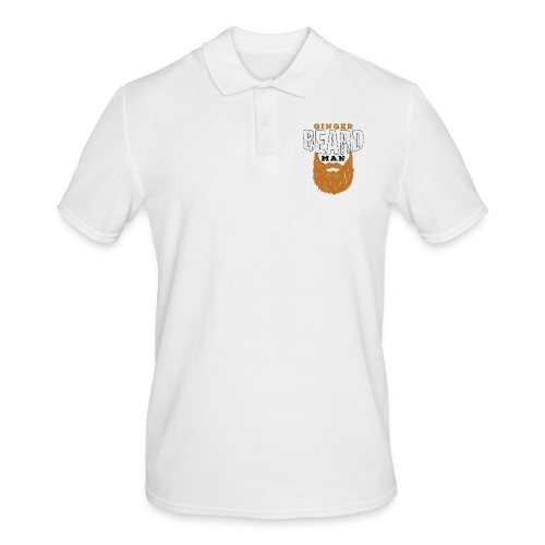 Beard Ginger Beard Man Redhead Gifts For Men - Männer Poloshirt