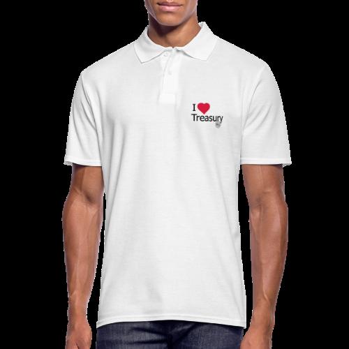 I LOVE TREASURY - Men's Polo Shirt