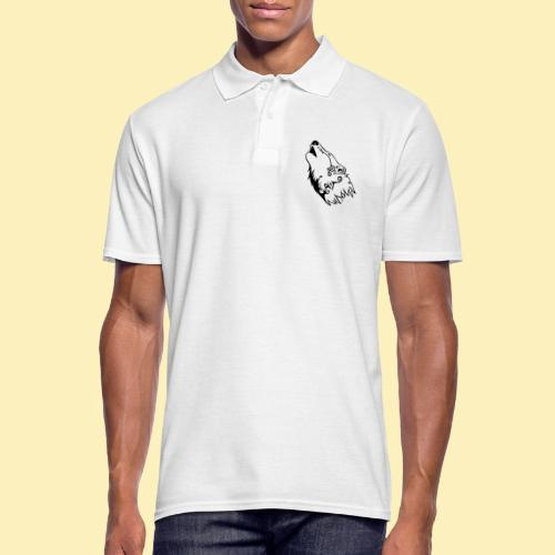 Le Loup de Neved (version traits) - Polo Homme