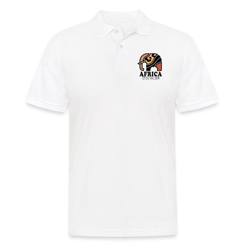 Elefant I AFRICA Wildlife - Männer Poloshirt