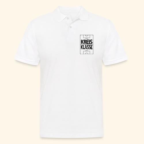 KREISKLASSE im Fußballfeld - Männer Poloshirt