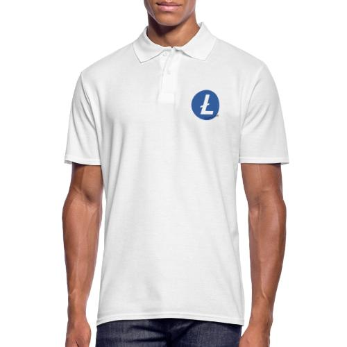 Litecoin Everybody rond - Polo Homme