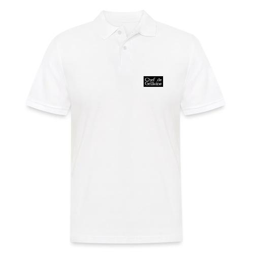 Chef de Grilluine - der Chef am Grill - Männer Poloshirt
