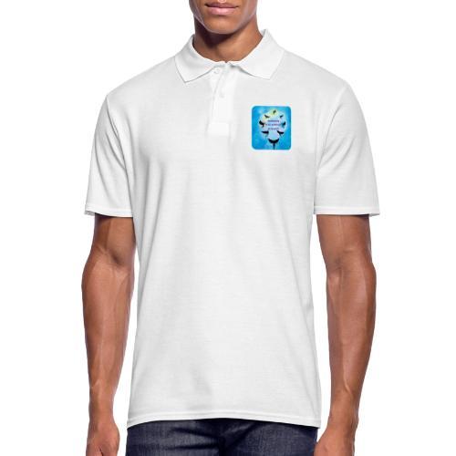 Mediumship is my Workout - Männer Poloshirt