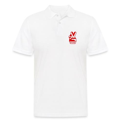 V-badge - Men's Polo Shirt
