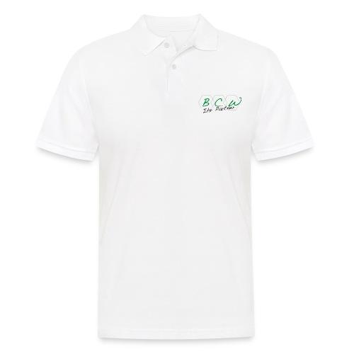 Unternehmenslogo - Männer Poloshirt