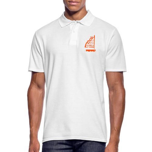 AndriesBik look thisGIRLS shirt witteletters - Mannen poloshirt