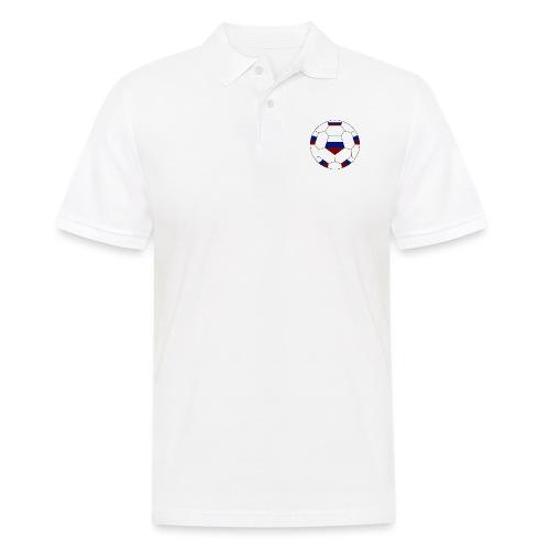 Russland Fußball - Männer Poloshirt