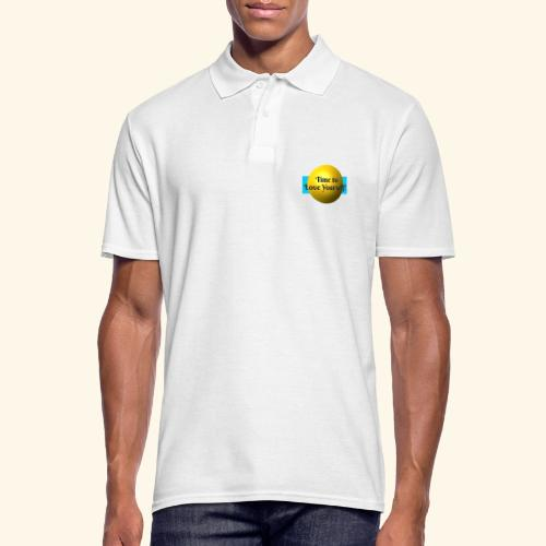 Time to Love Yourself - Männer Poloshirt