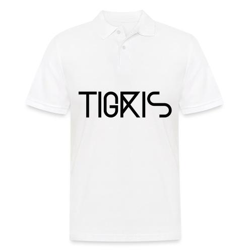 Tigris Vector Text Black - Men's Polo Shirt