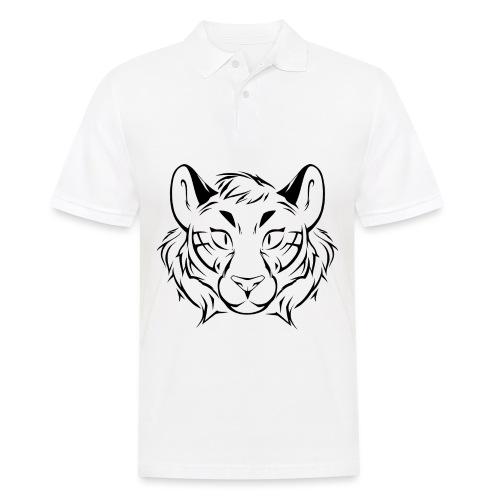 Tigris Picture Logo Black - Men's Polo Shirt