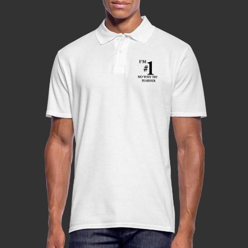 T-shirt, I'm #1 - Pikétröja herr