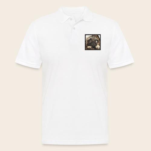 Mops Hund 1 - Männer Poloshirt