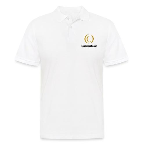 Tshirt Yellow Front logo 2013 png - Men's Polo Shirt