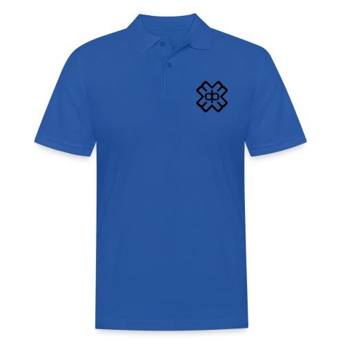 d3ep logo black png - Men's Polo Shirt
