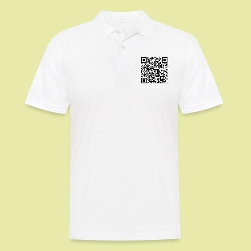 QR-Code Karslruhe Extra - Männer Poloshirt