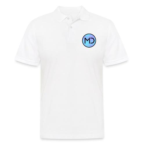 MD Blue Fibre Trans - Men's Polo Shirt