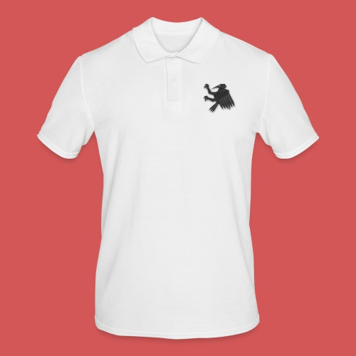 Nörthstat Group ™ Black Alaeagle - Men's Polo Shirt