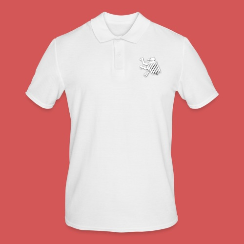 Nörthstat Group ™ White Alaeagle - Men's Polo Shirt