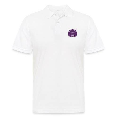 Usagi kamon japanese rabbit purple - Men's Polo Shirt