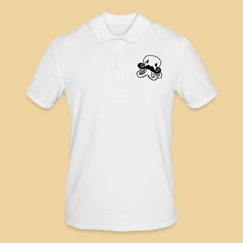 Gentle Octo - Männer Poloshirt