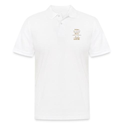 unfassbar schön - Männer Poloshirt