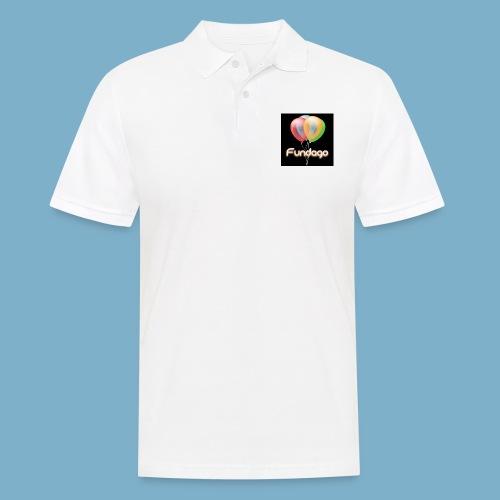Fundago Ballon - Männer Poloshirt