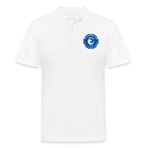 201 602 Case Back Logo (White / Blue PADI) - Men's Polo Shirt