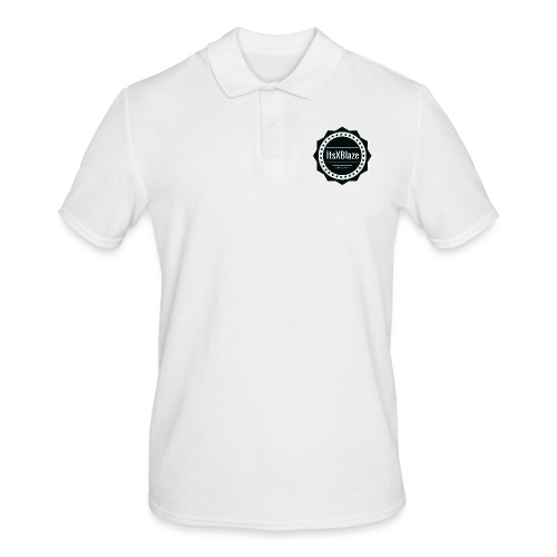 ItsXBlaze Logo 2 Women V-Neck Option 1 - Mannen poloshirt