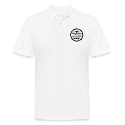 ItsXBlaze Logo 3 White V-Neck Option 2 - Mannen poloshirt