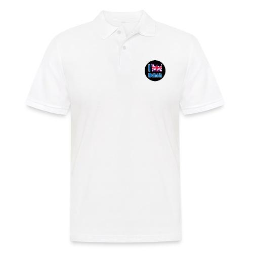 I Voted Remain badge EU Brexit referendum - Men's Polo Shirt