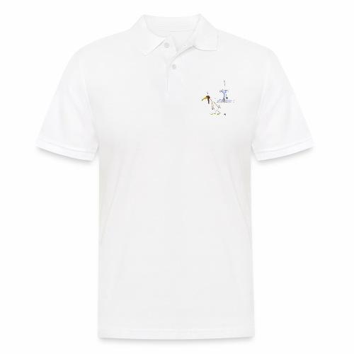 cartoon_Kleimdesign_abstu - Männer Poloshirt