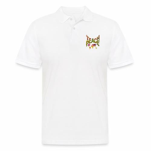 Teach Peace - Men's Polo Shirt
