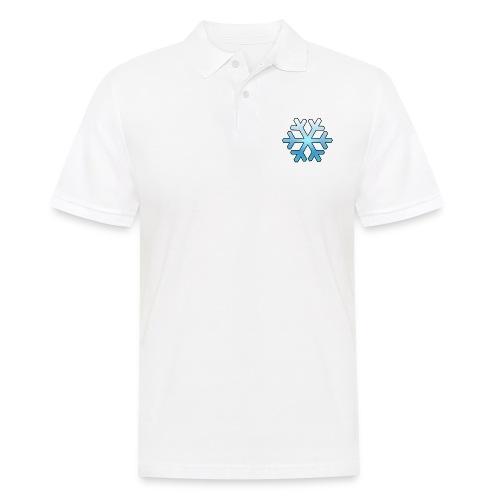 Schneeflocke - Männer Poloshirt