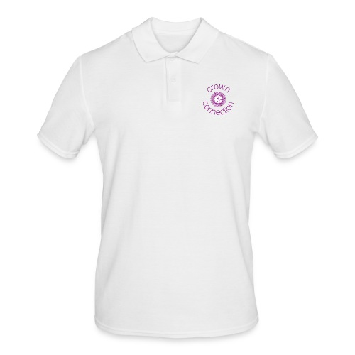 Crown Connection Logo - Men's Polo Shirt