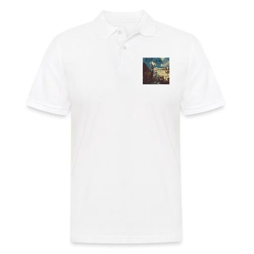 Abstrakt Budapest - Männer Poloshirt
