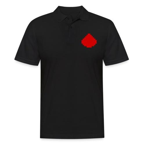 MCPE Redstone Logo - Mannen poloshirt