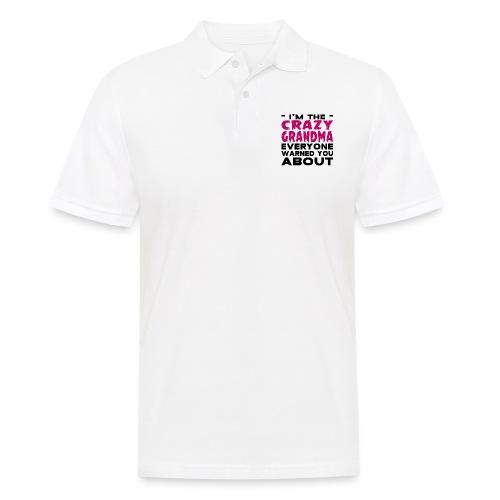 Crazy Grandma - Men's Polo Shirt