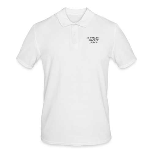 dont assume my FUCKING GENDER - Herre poloshirt