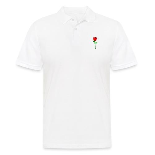 ROSE - Männer Poloshirt