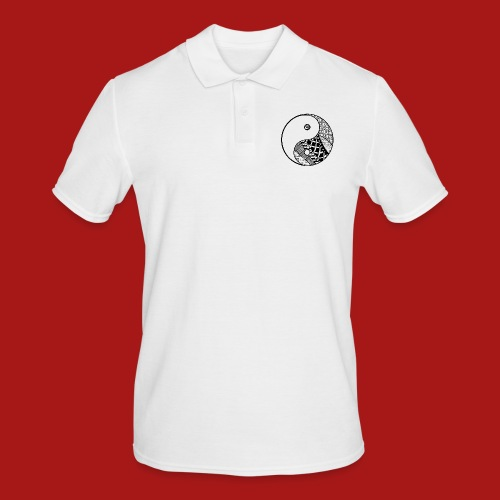 Decorative-Yin-Yang - Herre poloshirt