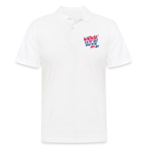 Wagwan PiffTing Send BBM Yh? - Men's Polo Shirt