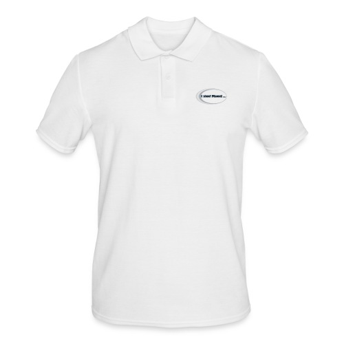 I shoot manual slogan - Men's Polo Shirt