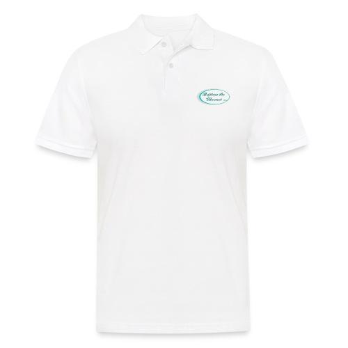 Logo capture the moment photography slogan - Men's Polo Shirt
