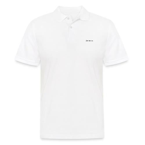 Yes but no - Poloskjorte for menn