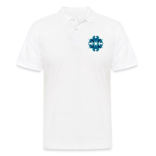 Tintenklecks unter Wasser - Männer Poloshirt