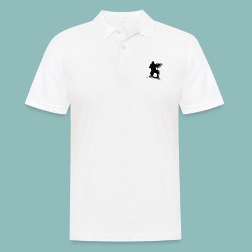 I'd rush you - Black Version - Männer Poloshirt
